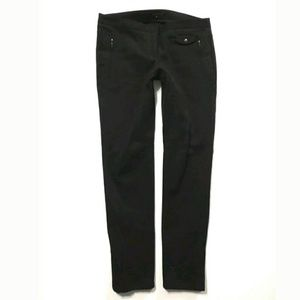 Theory skinny riding pants Ankle zip Black